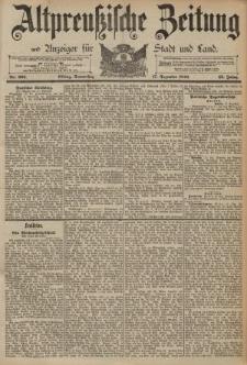 Altpreussische Zeitung, Nr. 295 Donnerstag 17 Dezember 1891, 43. Jahrgang