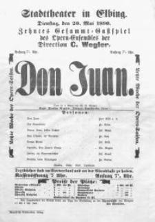 Don Juan - Wolfgang Amadeusz Mozart