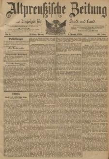 Altpreussische Zeitung, Nr. 5 Freitag 6 Januar 1893, 45. Jahrgang