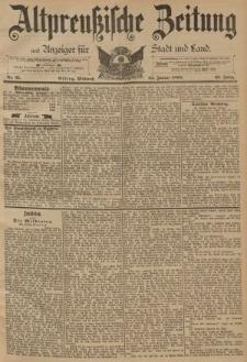 Altpreussische Zeitung, Nr. 21 Mittwoch 25 Januar 1893, 45. Jahrgang