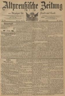 Altpreussische Zeitung, Nr. 25 Sonntag 29 Januar 1893, 45. Jahrgang