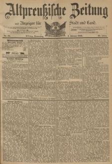 Altpreussische Zeitung, Nr. 28 Donnerstag 2 Februar 1893, 45. Jahrgang
