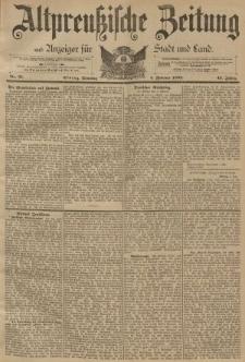 Altpreussische Zeitung, Nr. 31 Sonntag 5 Februar 1893, 45. Jahrgang