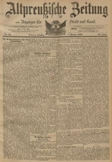 Altpreussische Zeitung, Nr. 32 Dienstag 7 Februar 1893, 45. Jahrgang