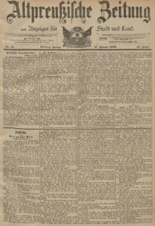 Altpreussische Zeitung, Nr. 41 Freitag 17 Februar 1893, 45. Jahrgang