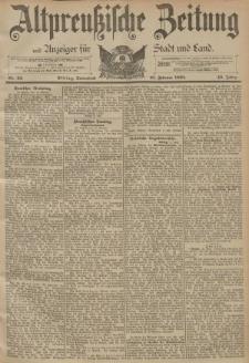 Altpreussische Zeitung, Nr. 42 Sonnabend 18 Februar 1893, 45. Jahrgang