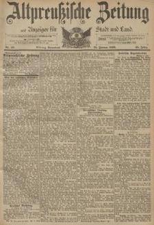 Altpreussische Zeitung, Nr. 48 Sonnabend 25 Februar 1893, 45. Jahrgang