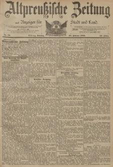 Altpreussische Zeitung, Nr. 50 Dienstag 28 Februar 1893, 45. Jahrgang