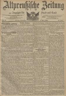 Altpreussische Zeitung, Nr. 52 Donnerstag 2 März 1893, 45. Jahrgang