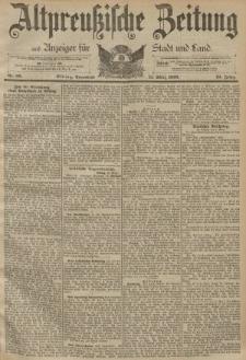 Altpreussische Zeitung, Nr. 60 Sonnabend 11 März 1893, 45. Jahrgang