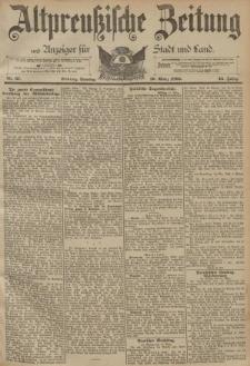 Altpreussische Zeitung, Nr. 67 Sonntag 19 März 1893, 45. Jahrgang