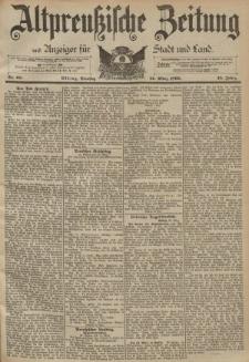 Altpreussische Zeitung, Nr. 68 Dienstag 21 März 1893, 45. Jahrgang
