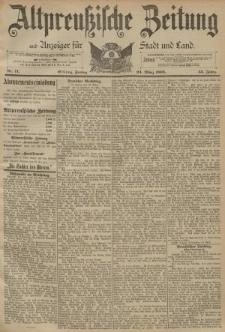Altpreussische Zeitung, Nr. 71 Freitag 24 März 1893, 45. Jahrgang