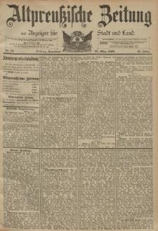 Altpreussische Zeitung, Nr. 72 Sonnabend 25 März 1893, 45. Jahrgang