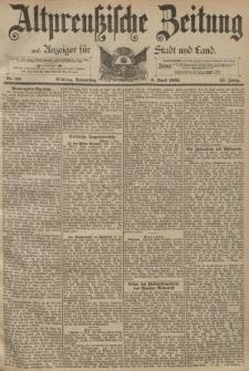 Altpreussische Zeitung, Nr. 80 Donnerstag 6 April 1893, 45. Jahrgang