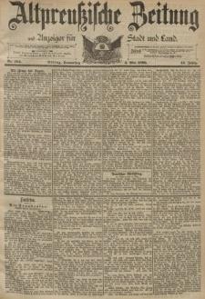 Altpreussische Zeitung, Nr. 104 Donnerstag 4 Mai 1893, 45. Jahrgang