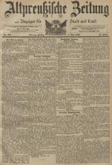 Altpreussische Zeitung, Nr. 105 Freitag 5 Mai 1893, 45. Jahrgang