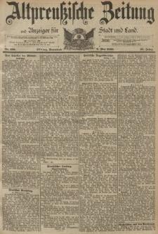 Altpreussische Zeitung, Nr. 106 Sonnabend 6 Mai 1893, 45. Jahrgang