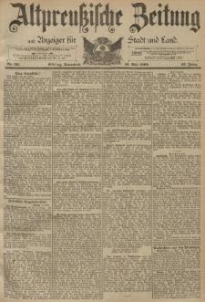 Altpreussische Zeitung, Nr. 111 Sonnabend 13 Mai 1893, 45. Jahrgang