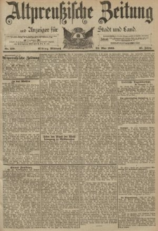 Altpreussische Zeitung, Nr. 119 Mittwoch 24 Mai 1893, 45. Jahrgang