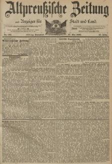 Altpreussische Zeitung, Nr. 122 Sonnabend 27 Mai 1893, 45. Jahrgang