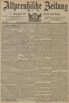 Altpreussische Zeitung, Nr. 128 Sonnabend 3 Juni 1893, 45. Jahrgang