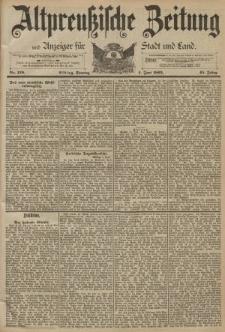 Altpreussische Zeitung, Nr. 129 Sonntag 4 Juni 1893, 45. Jahrgang