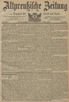 Altpreussische Zeitung, Nr. 130 Dienstag 6 Juni 1893, 45. Jahrgang