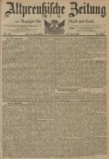Altpreussische Zeitung, Nr. 134 Sonnabend 10 Juni 1893, 45. Jahrgang