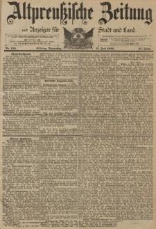 Altpreussische Zeitung, Nr. 138 Donnerstag 15 Juni 1893, 45. Jahrgang