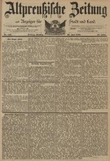 Altpreussische Zeitung, Nr. 142 Dienstag 20 Juni 1893, 45. Jahrgang