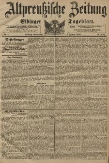 Altpreussische Zeitung, Nr. 3 Sonnabend 4 Januar 1896, 48. Jahrgang