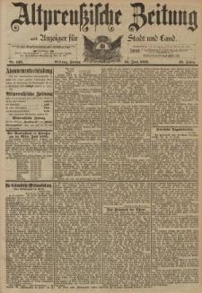 Altpreussische Zeitung, Nr. 145 Freitag 23 Juni 1893, 45. Jahrgang