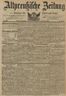 Altpreussische Zeitung, Nr. 146 Sonnabend 24 Juni 1893, 45. Jahrgang