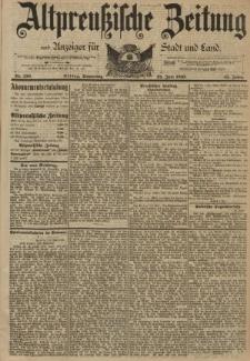 Altpreussische Zeitung, Nr. 150 Donnerstag 29 Juni 1893, 45. Jahrgang