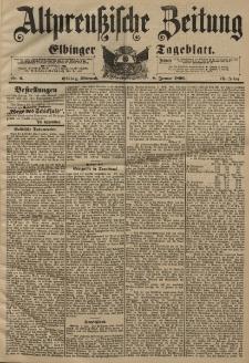 Altpreussische Zeitung, Nr. 6 Mittwoch 8 Januar 1896, 48. Jahrgang