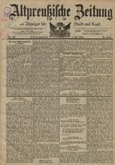 Altpreussische Zeitung, Nr. 152 Sonnabend 1 Juli 1893, 45. Jahrgang
