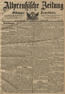 Altpreussische Zeitung, Nr. 7 Donnerstag 9 Januar 1896, 48. Jahrgang