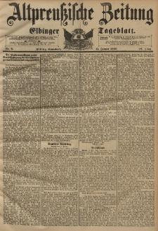 Altpreussische Zeitung, Nr. 9 Sonnabend 11 Januar 1896, 48. Jahrgang