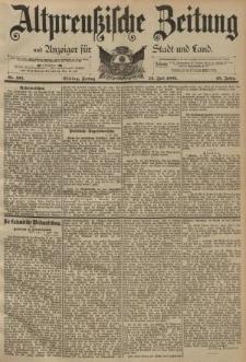 Altpreussische Zeitung, Nr. 163 Freitag 14 Juli 1893, 45. Jahrgang