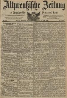 Altpreussische Zeitung, Nr. 164 Sonnabend 15 Juli 1893, 45. Jahrgang