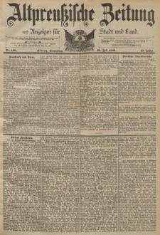 Altpreussische Zeitung, Nr. 168 Donnerstag 20 Juli 1893, 45. Jahrgang