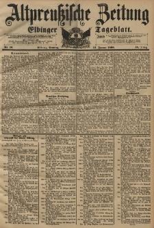 Altpreussische Zeitung, Nr. 10 Sonntag 12 Januar 1896, 48. Jahrgang