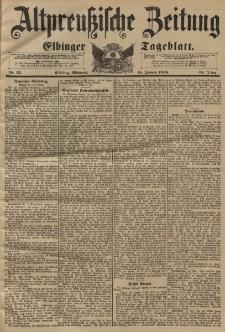 Altpreussische Zeitung, Nr. 12 Mittwoch 15 Januar 1896, 48. Jahrgang