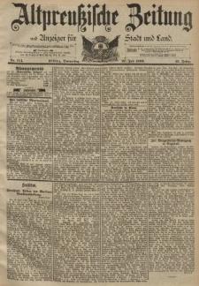 Altpreussische Zeitung, Nr. 174 Donnerstag 27 Juli 1893, 45. Jahrgang