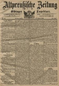 Altpreussische Zeitung, Nr. 14 Freitag 17 Januar 1896, 48. Jahrgang