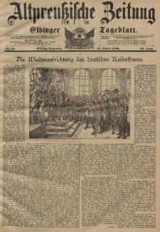 Altpreussische Zeitung, Nr. 15 Sonnabend 18 Januar 1896, 48. Jahrgang