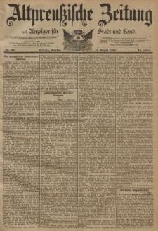 Altpreussische Zeitung, Nr. 190 Dienstag 15 August 1893, 45. Jahrgang