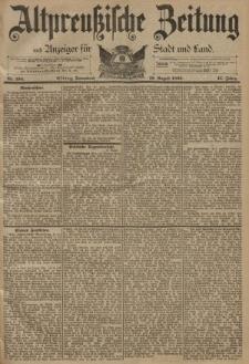 Altpreussische Zeitung, Nr. 194 Sonnabend 19 August 1893, 45. Jahrgang