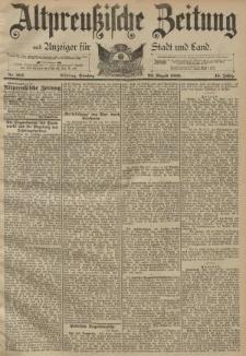 Altpreussische Zeitung, Nr. 202 Dienstag 29 August 1893, 45. Jahrgang